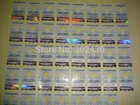 3D adhesive hologram sticker  ,  order for 2500pcs silver small bird hologram sticker