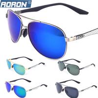 (9-colors) Polarized TR sunglasses Men's Car Driving glasses Aviator outdoor Sport 100% UV400 sun Goggles Eyewear