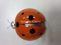 Red Plastic Ladybug Design Air Fragrance Freshener for Car free shipping  QN022