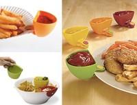 4pcs of Pack of Dip Clips kitchen bowl tool mini bowl kit