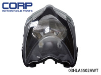 Headlamp Headlight Assembly for Ducati 848 Street fighter 2008-2012