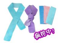 Free shipping 75*5cm sports cool ice towel PVA hypothermia towel Chamois Towel  Yoga towel  100pcs/lot