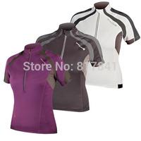 Cycling jersey Endura CyclingJacket Women Short Clothing Short-sleeved Jersey 2014 Summer casual riding clothes