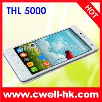 THL 5000 Smartphone MTK6592T Octa Core 2.0GHz 5.0 Inch Gorilla Glass III Screen 5000mAh Battery 13MP Camera NFC Wireless Display