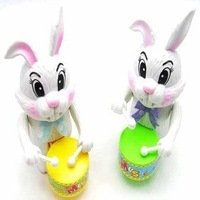 Free shipping Chain Wind up Rabbit toys toy gift baby toy