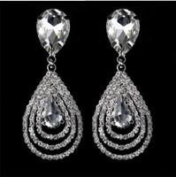 free shipping fashion  drop earrings for women bridal  luxury jewelry for wedding TRE05