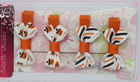 20 pcs wholesale for Hallowmas  Girls baby hairgrips  hair  Accessories  for  free  shipping
