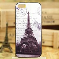 fashion paris Effiel Tower Series romantic paris Phone Case for Iphone 5 5S