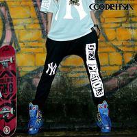 CQ-10 new 2014 Autumn 3 M reflective hip hop pants Casual women joggers harem pants jogging women street dance skinny plus size