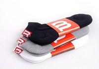 "Fashion men socks 100% cottom 3color  ""M""  free shipping"