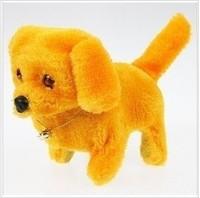 Free shipping Electric child plush toy doll dolls luminous dog back