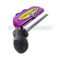 Short hair Cat Hair Removal Comb Dog Cat Brush Pet Grooming Hair deShedding Tool Pet Rake Pet Products Supplies