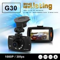 NTK96650 G30 Full HD DVR Support G-Sensor + 1920*1080@30fps + AR0330 Sensor + Night Vision + 170 Degree Angle Lens