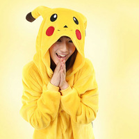 New Japan Anime Pokemon Pikachu Animal Costume Animal Pajamas Unisex Onesies for Cosplay