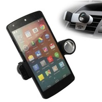 360 Rotating Car Air Vent Stand Mount Holder For LG G2 Google Nexus 5 Nexus 4