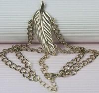 2014 New Euramerican Fangle Elegance Two-double Golden Leaf Attractive Bracelet SL020