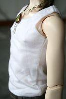 [wamami] 06# White Vest/T-shirt/Outfit SD17 DZ70 BJD Dollfie