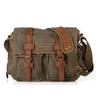 Men's Vintage Retro Canvas School Military Shoulder Bag Messenger Bag