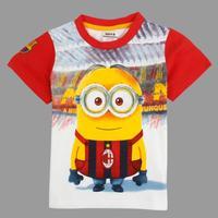 cartoon shirts Nova boys brand navy tunic top t-shirt  summer boy short sleeve shirt kids wear boy C5045Y#