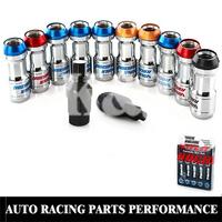 K&J Racing -- VOLK RAYS FORMULA WHEELS LOCK LUG NUTS M12X1.5 1.5 ACORN RIM CLOSE END