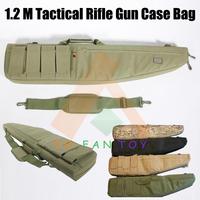 Heavy Duty 1.2M Hunting Tactical Rifle Case Shotgun Gun Bag Case Carry Storage Bag Sponge Lining Black/Army Green/Sand/CP Camo