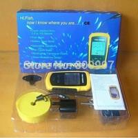 Portable Fish Finder Depth Sonar Sounder Alarm Transducer Fish finder 100m