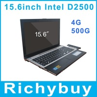 "cheap netbook 15.6"" Laptop Notebook Ultrabook Intel Atom D2500 Dual Core 1.86GHz 4GB 500GB DVD-ROM 1080P HDMI Bluetooth Webcam"
