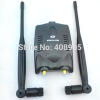 New  3000MW 150Mbps High Power free internet receiver 48DBI USB Wireless Networking  Wifi Adapter with Omni Antenna