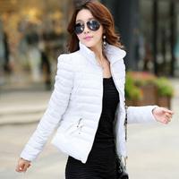 New arrival  2014  Free shipping  Lady Fashion Parkas Women slim winter down coat 905