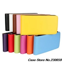 For Xperia M2 s50h case 100% original leather case for Sony Xperia M2 Verticl Flip Cover Mobile Phone Bags & Cases Accessories