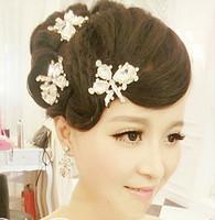 Free shipping! Handmade Rhinestone  bride hair accessory wedding hairpin accessory  headwear,SW188