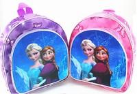 Free Shipping 2014 Lovely Hot Selling New Style Children Frozen kids Children's school Student book bag for girls