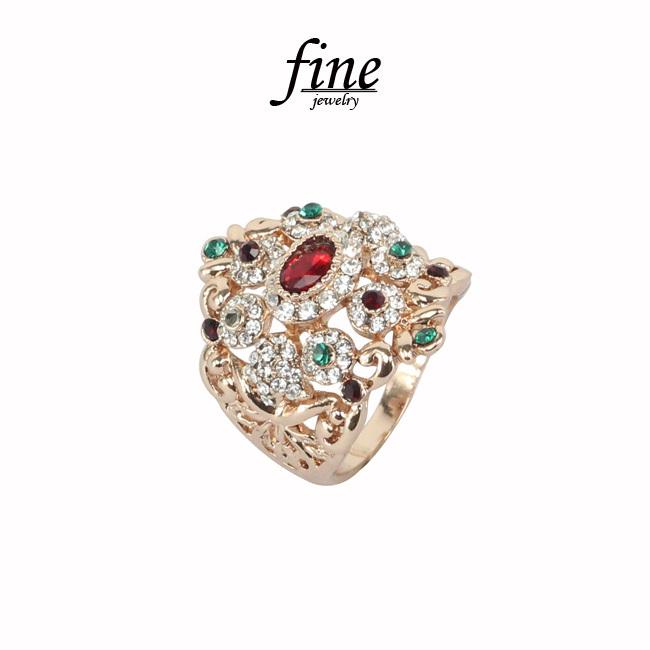 fine fashion ladies rings, vintage rings bohemian, ethnic style rhinestone embellishment special hollow ring. Free shipping(China (Mainland))