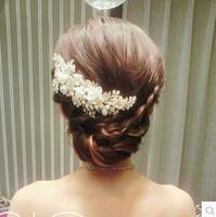Free shipping! Handmade Rhinestone  bride hair accessory wedding hairpin accessory  headwear,SW190