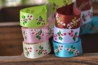 3/8 Grosgrain Ribbon 25 YARD/Roll Polyester Ribbons for Gift Box Christmas Xmas Decoration
