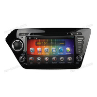 8 inch touch screen car dvd with gps android car dvd player for Kia K2/RIO 2011-2012 with bluetooth+built-in GPS
