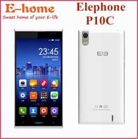 "Original Elephone P10C WCDMA Mobile Phone MTK6582 Quad Core Android 4.4 5.0"" 960X540 1GB RAM 8GB ROM 8MP Ultra Thin 5.8MM GPS"