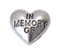 "Wholesale - 20PCS!!  ""Heart"" Floating charms Zinc Alloy Fit Floating lockets & Floating locket bracelet"