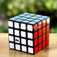 New YJ MoYu Aosu Black 4x4 Magic Cube 4x4x4 Speed Magic Cube Ao Su Cube 6.2cm Educational Toys Children Gift Toys