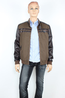 A PU automobile race clothing motorcycle jacket motorcycle ride service motorcycle leather jacket