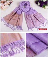 70*175cm Free Shipping 2014 New Fashion Women's Scarf Winter Wrap Cotton And Linen Printing Shawl Pashmina Tassels Scarves