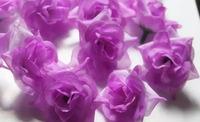 "200 pcs 1.8"" Artificial ROSE Flowers Head Silk Decorative Flowers Wreaths Bridal Wedding Party Supplies Festive Home Decor"