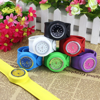 New Arrival Fashion Neutral Silicone Bracelet Watchband Sport Watch Free Shipping & Wholesale
