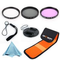 Free Shipping K&F 52MM UV CPL FLD Filter Kit  Lens Hood for EF 40mm f/2.8 STM