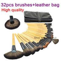 32 pcs brushes kit Benefit Professional make up brushes set cosmetics tools 32pcs brand makeup brush set  tool  with makeup bag