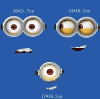 Yellow eyes parent-child class A washable Mall special quality 2014 selling parent-child loaded with thermal transfer