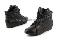 2014 Winter New Famous Brand Designer Women Shoes Fashion Genuine Leather Ankle Boots Black Lace-Up Women Shoes Hot Sale