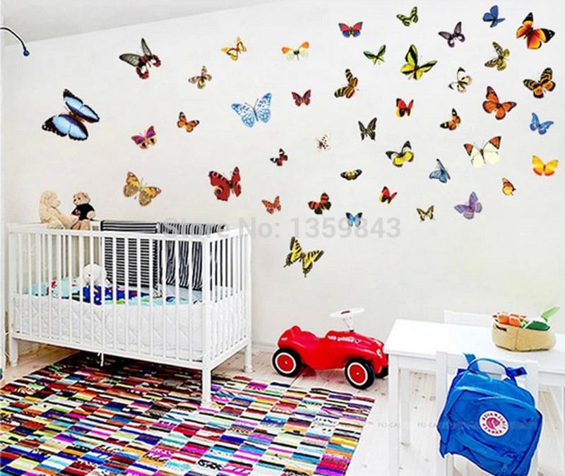 Goedkope Slaapkamer Decoratie : decoratie slaapkamer : decoratie uit China goedkope vlinder decoratie