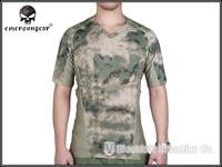 EMERSON Skin Tight Base Layer Camo Running Training Shirts Breathable perspiration Tshirt atfg EM9167AF