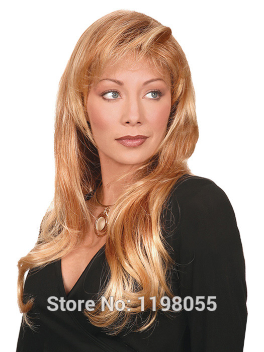 Strawberry Blonde With Pale Blonde Highlights Wig Us 22 00 Piece Min ...